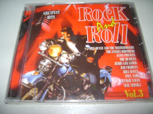 cd rock and roll greatest hits vol 3 ! original !