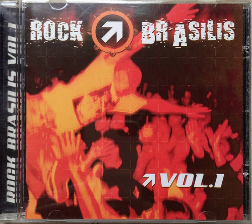cd rock brasilis - volume 1
