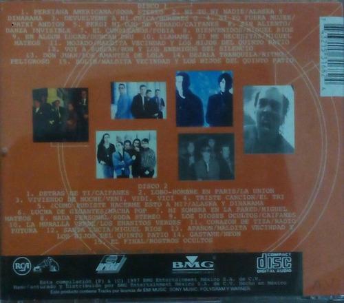 cd rock en tu idioma diez anos vol 2 soda stereo maldita vec