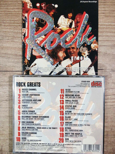 cd  rock greats