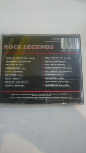cd rock legends - importado