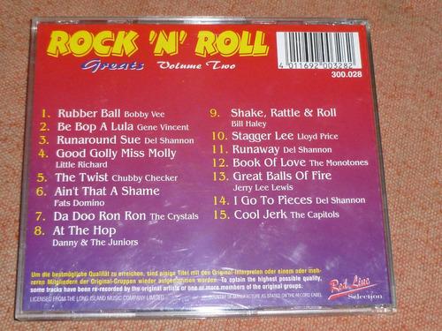 cd rock 'n roll greats vol. il original envío incluido
