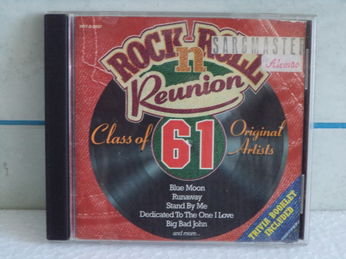 cd rock n roll reunion class of 61 (1ª edição)  ( import )