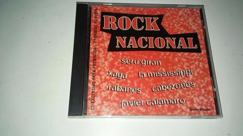 cd rock nacional sony music - edición exclusiva