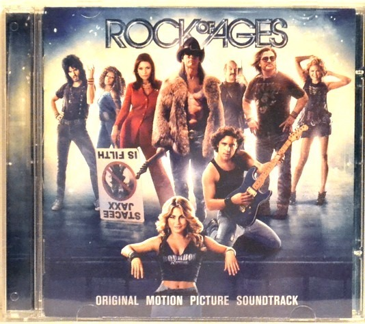 trilha sonora de rock of ages