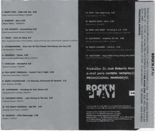 cd rock'n play - promo -  raridade