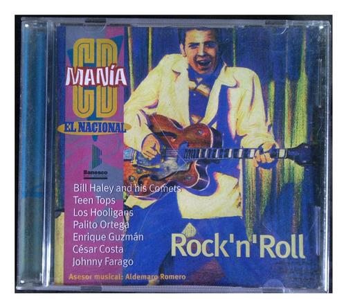 cd - rock`n`roll - cd mania - 1998 - original