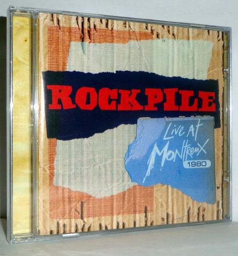 cd rockpile - live at montreux 1980 - *promoção*