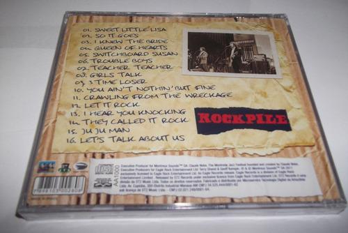 cd - rockpile - live montreux 1980 - dave edmunds - lacrado