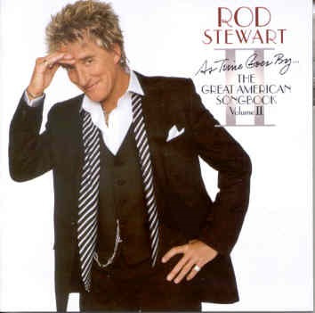 cd rod stewart - great american song. v. 2
