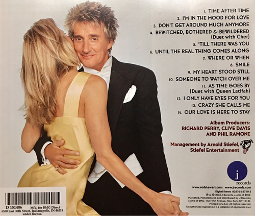 cd rod stewart the great american songbook vol 2 importado