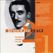 cd rodolfo biagi  2 en 1  dos albumes en un cd, impecable!