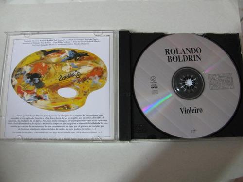 cd rolando boldrin - violeiro - 2001