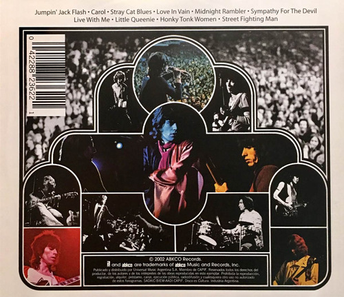 cd rolling stones get yer ya yas out in concert
