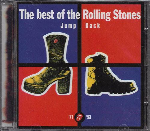 cd rolling stones  the best of jump back novo frete r$ 9,10