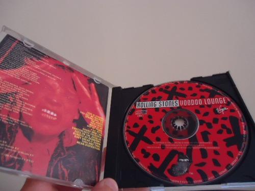 cd - rolling stones - voodoo lounge