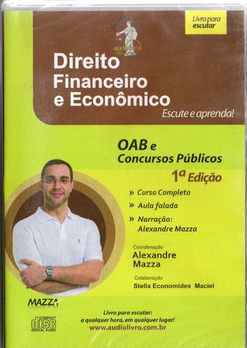 cd rom -direito financeiro e eco - autor prof. alexandre maz