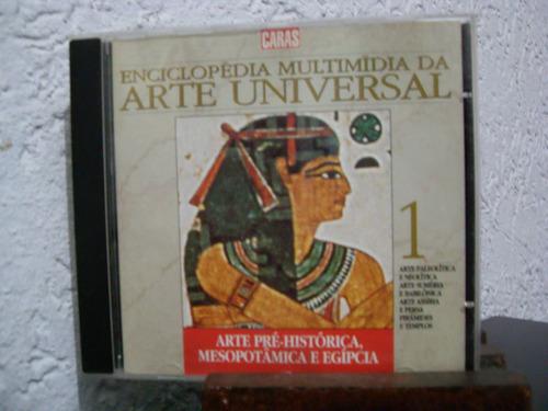 cd-rom enciclopédia multimídia da arte universal 3 (caras)
