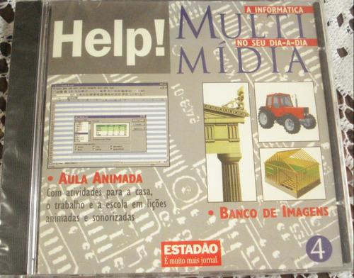 cd rom help! multimídia cd 4