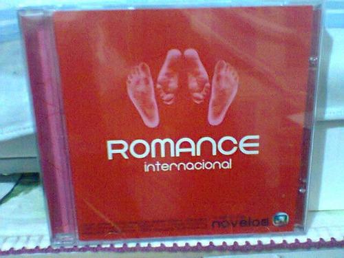 cd romance internacional @ coletânea  (lacrado)
