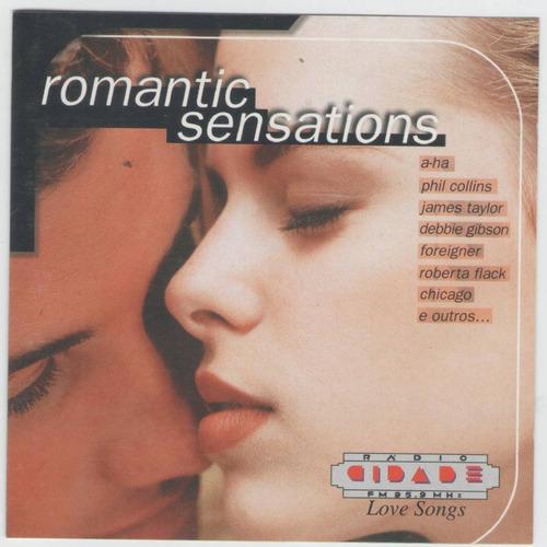 cd romantic sensations - = chicago - bread - roberta flack