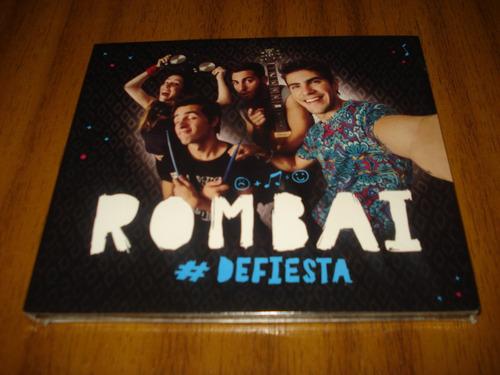 cd rombai / defiesta (nuevo y sellado)