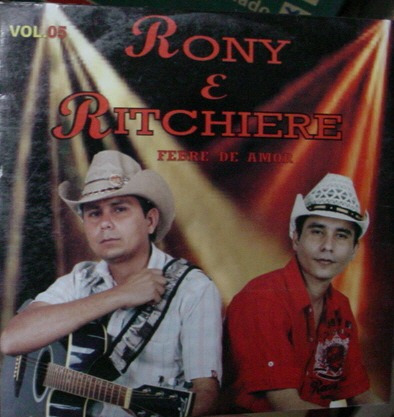 cd  -    rony  &  ritchiere  - b194