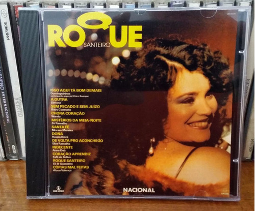 cd roque santeiro volume 1 - cdmusicclub - 1985