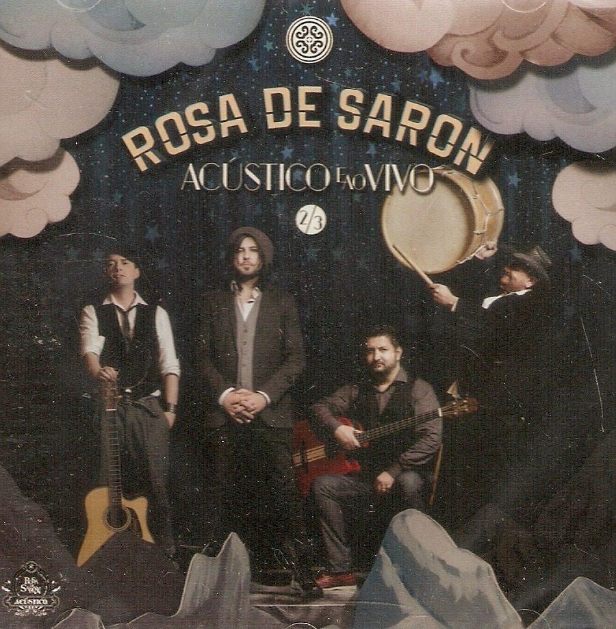cd rosas de saron acustico e ao vivo