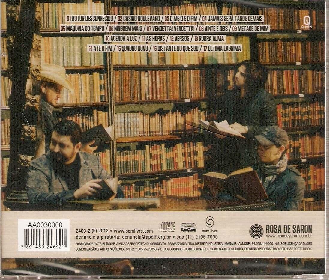 novo cd rosa de saron 2012