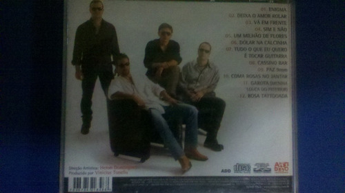 cd rosa tattoada-hard rock deluxe(não possui capa da frente)