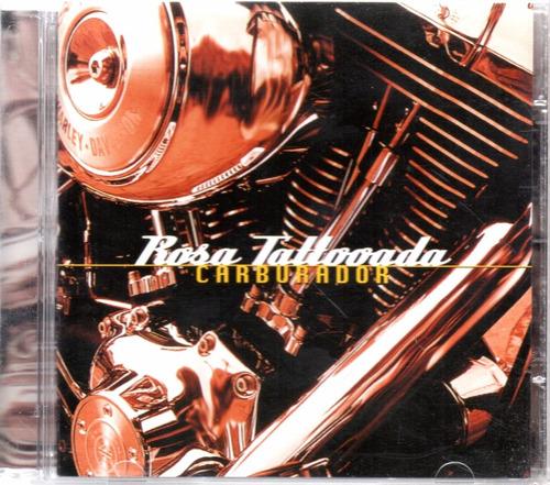 cd rosa tattooada - carburador - 2001 - raridade