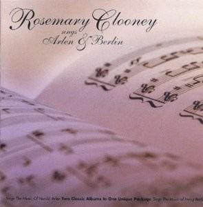 cd rosemary clooney sings arlen & berlin