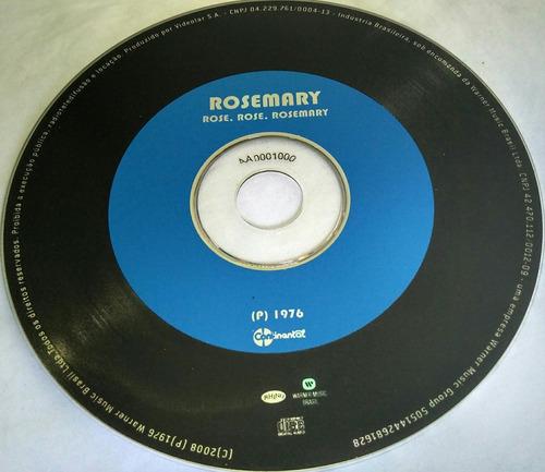 cd rosemary (ídolos da jovem guarda) hbs