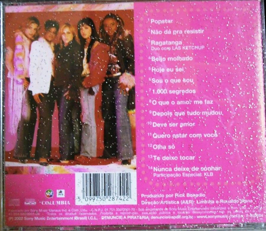 cd completo rouge popstar