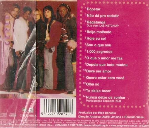 cd rouge - popstar - novo lacrado***