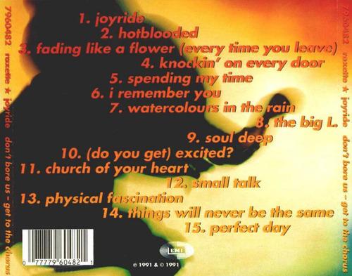 cd roxette - joyride