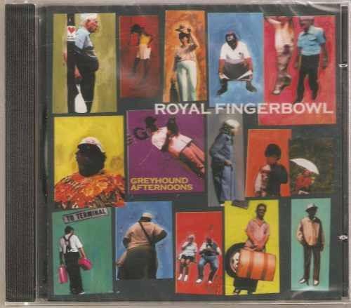 cd  royal fingerbowl - greyhound  - novo e lacrado  - b249