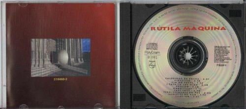 cd rútila máquina - 1993 - paulo rafael, marcio miranda