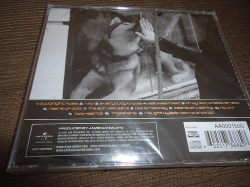cd ryan adams - easy tiger (lacrado)