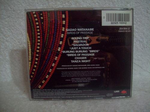 cd sadao watanabe- birds of passage- importado