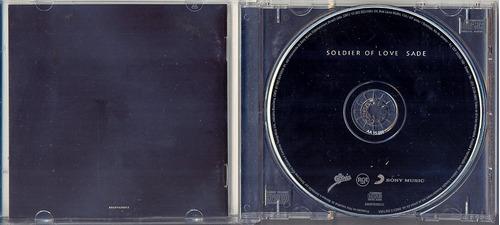 cd sade - soldiers of love - 2010