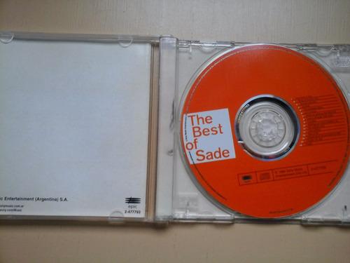 cd sade the best  excelente estado