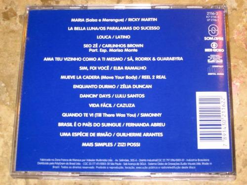 cd salsa e merengue (1996) c/ ricky martin sa rodrix cazuza