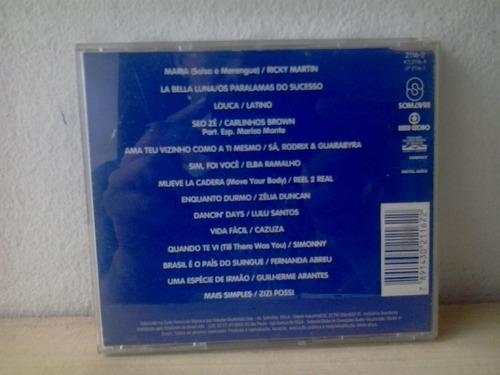 cd salsa e merengue nacional - novela globo