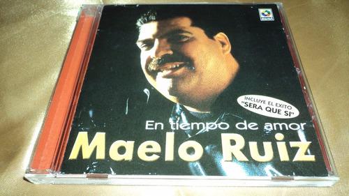 cd salsa / en tiempo de amor / maelo ruiz discos musart
