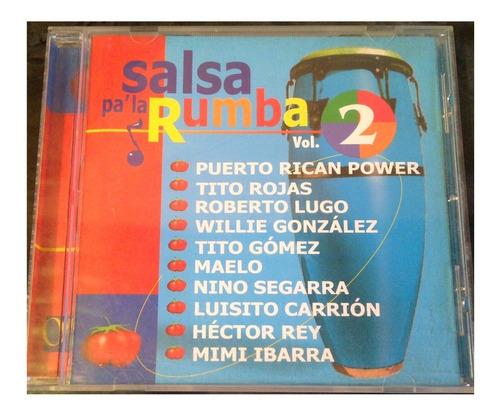 cd - salsa pa la rumba - vol.2 - exitos - 2000 - original