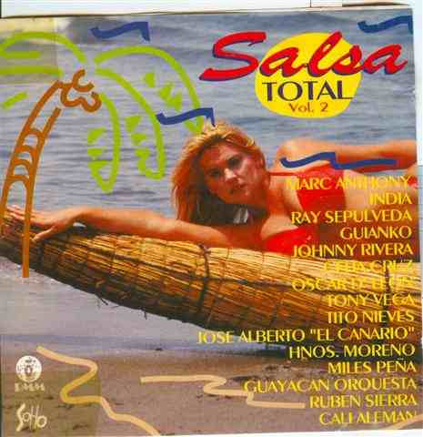 cd salsa total - vol. 2