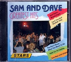 cd sam & dave - greatest hits (usado/otimo)