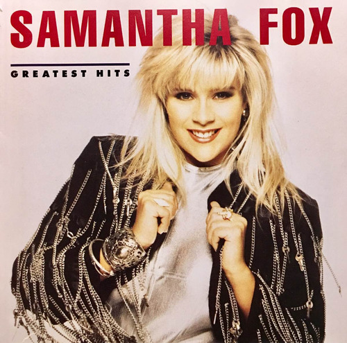 cd samantha fox greatest hits importado de estados unidos